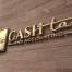 Small Cash Tax and Accounting Portfolio logo mockup