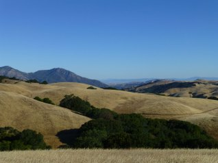 Final look back at Mt. Diablo
