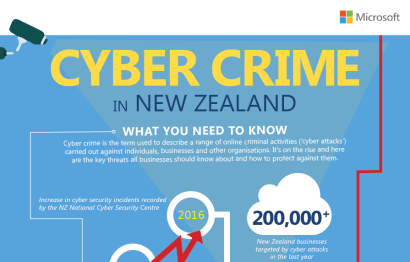 Infographic: Cyber crime in New Zealand – what you need to know