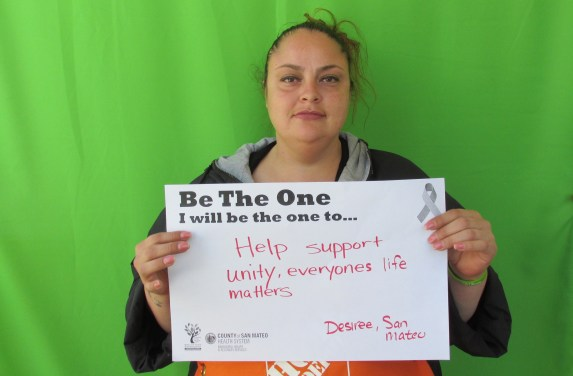 Help support unity, everyone's life matters - Desiree, San Mateo