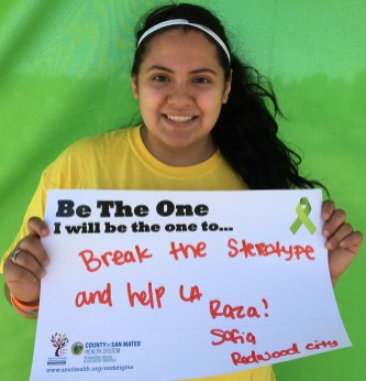 Break the stereotype and help La Raza! - Sofia, Redwood City