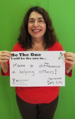 Make a differerenc in helping others - Marianne, Daly City