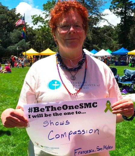 Show compassion - Francesca, San Mateo