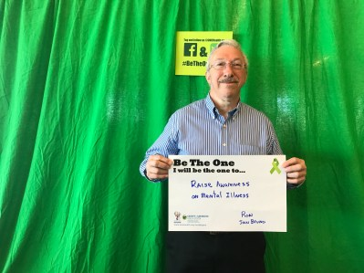 Raise awareness on mental illness - Ron, San Bruno