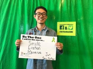 Smile, listen, receive - Jun, San Mateo