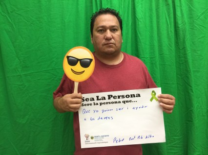Be the person I want to be to help others - Pedro, East Palo Alto