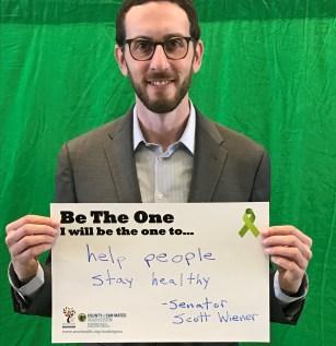 Help people stay healthy - Senator Scott Wiener