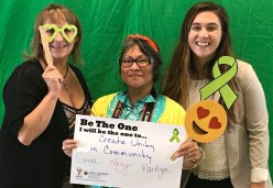 Create unity in community - Sonja, Mary and Kaitlyn