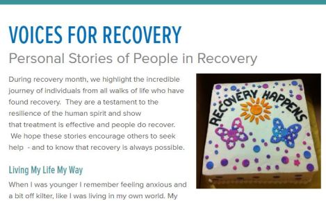 Voices for Recovery story pic
