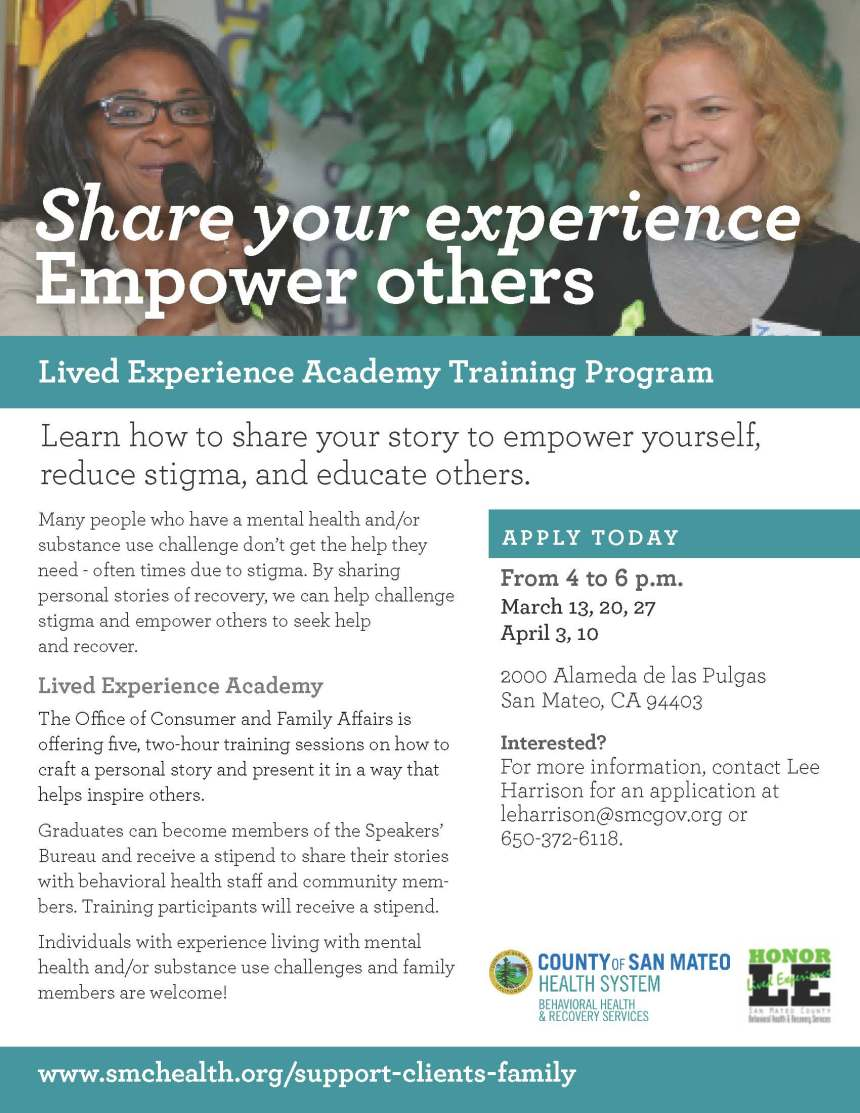 Lived Experience Academy Final