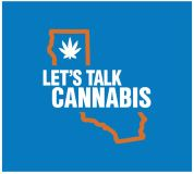 Let's Talk Cannabis blue