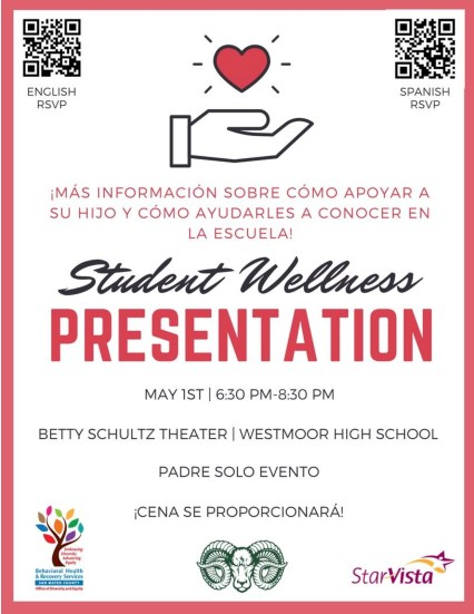 Westmoor Parent Ed Flyer (Spanish)