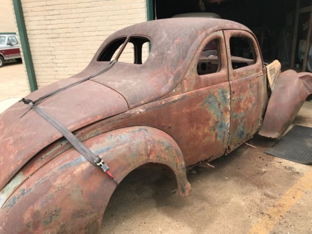 1939 Ford Coupe Project Rod Classic Ford Standard Coupe