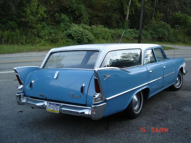1960 Plymouth Suburban Station Wagon Classic Plymouth