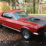 1967 Ford Mustang Red 302 Automatic Black Interior Good Condition Classic Ford Mustang 1967 For Sale