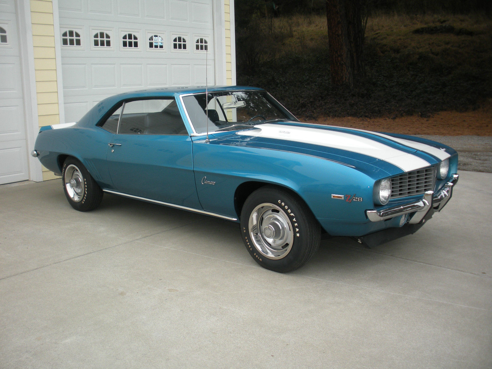 Paint Code 1969 Lemans Blue Camaro