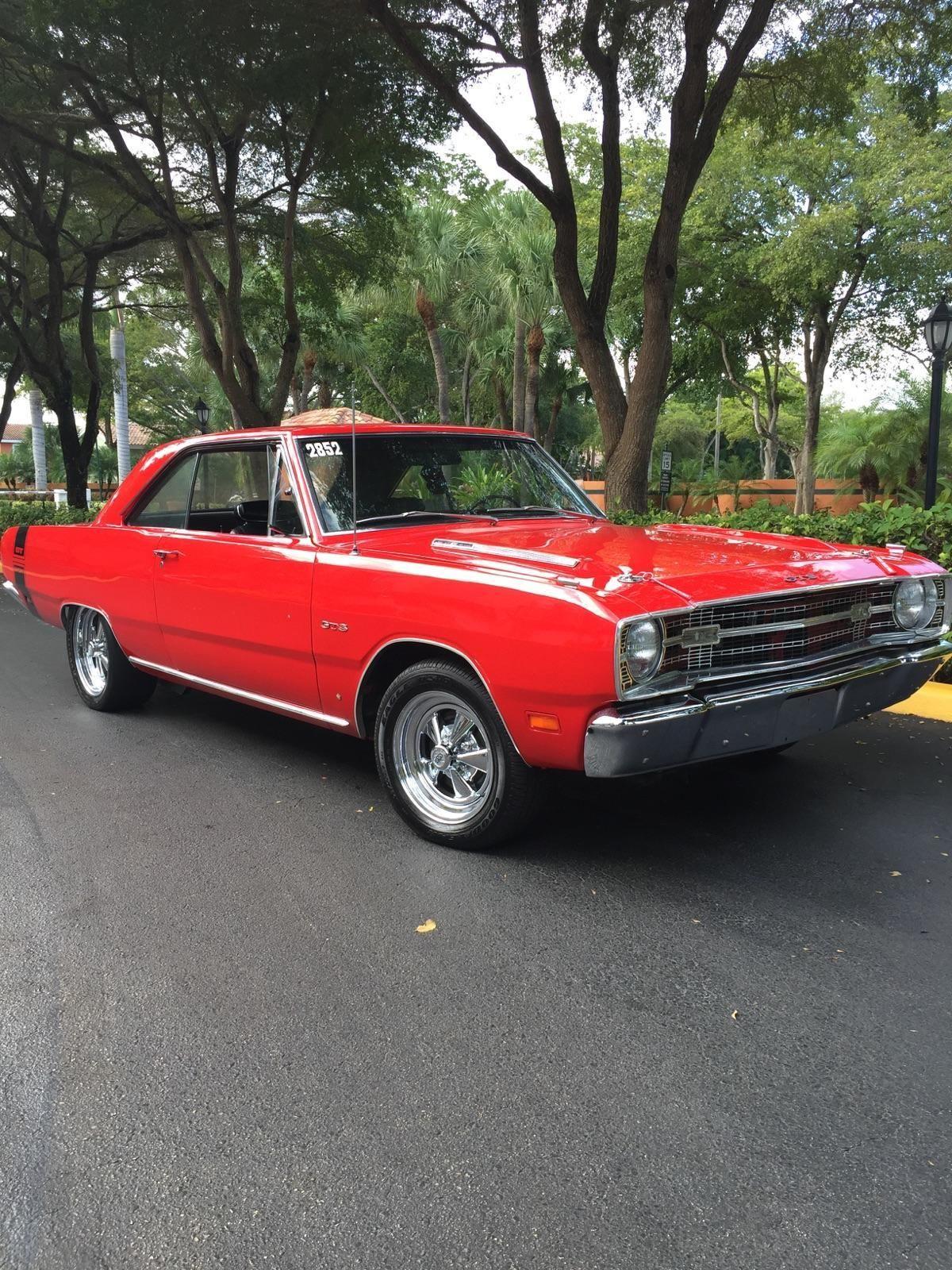1969 Dodge Dart GTS Hardtop 2 Door 56L Classic Dodge