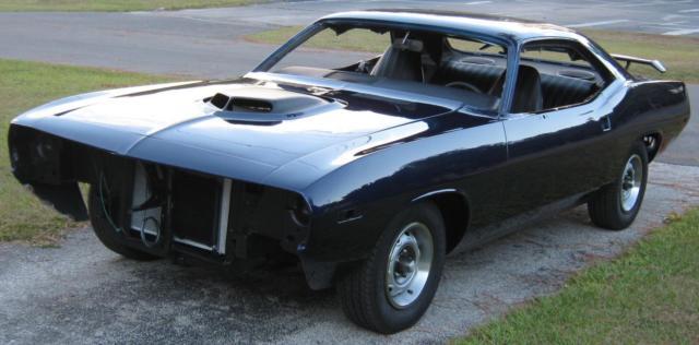 1974 Plymouth Barracuda 74 Cuda Classic Plymouth