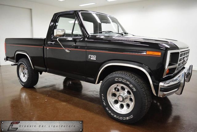 4x4 Manual Transmission 150 F Ford