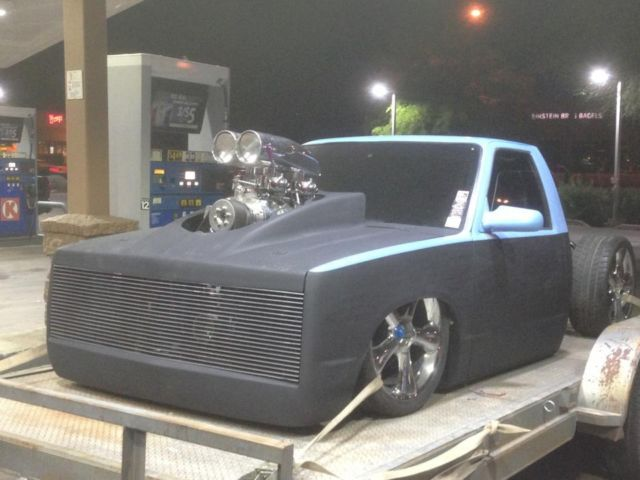 1991 S10 Pickup 671 Blower 400sb Bored 030 Bagged Bodydropped Minitruck Project Classic