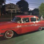 No Reserve Nr Classic Hot Rod 1956 Chevy Cruiser Lowered Built 350 Classic Chevrolet Bel Air 150 210 1956 For Sale
