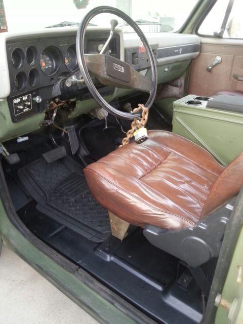 Rare M Cucv Military Truck D10 Blazer K5 Low Mileage