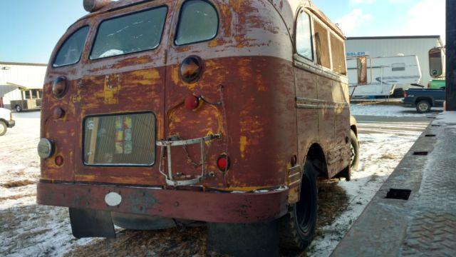 School Mid Bus Bus Interior