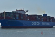 Aankomst Cosco Shipping Universe 23-07-'18-30