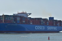 Aankomst Cosco Shipping Universe 23-07-'18-31