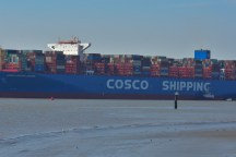 Aankomst Cosco Shipping Universe 23-07-'18-35