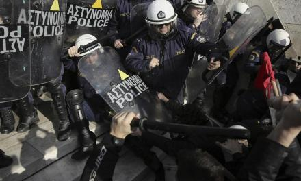 Strikes, rallies, clashes in Greece at anti-austerity protests | The Spokesman-Review
