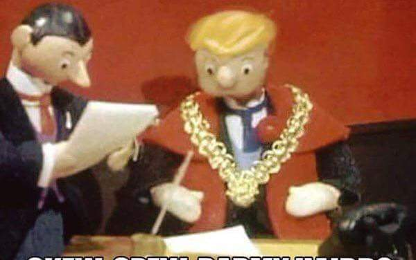 Trumpton Cartoon