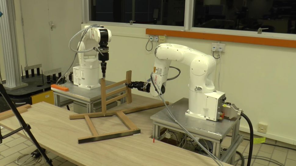 Frustration be gone: this robot will build Ikea furniture for you | TechRadar