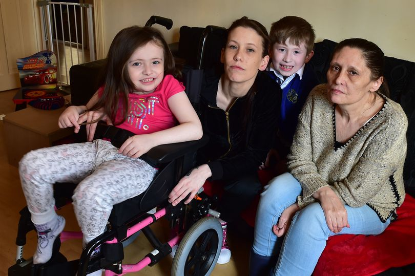 'Exhausted' mum living in overcrowded home with disabled daughter suffering rare genetic syndrome faces eviction – Mirror Online