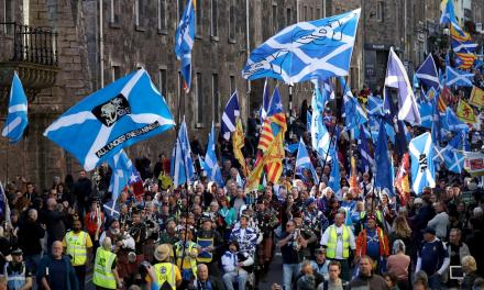 AUOB marchers head for Edinburgh in 'biggest pro-indy event yet' | The National