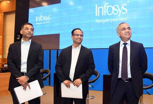 Infosys Chairman Nilekani recuses CEO Parekh, CFO Roy from investigation of allegations