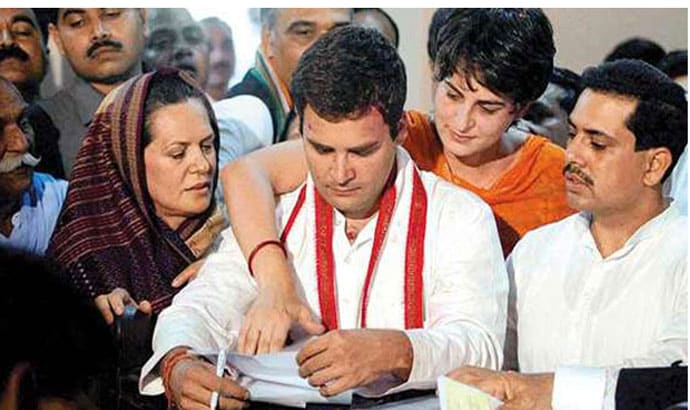 Image result for sonia gandhi with rahul
