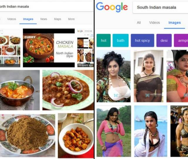 Search For Something Google Looks Into The Web Content For Particular Keywords Similar Process Happenes Whenever You Search For South Indian Masala