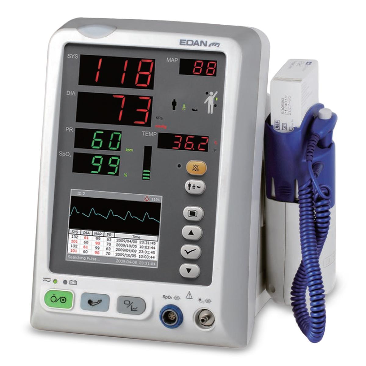 Edan M3a Vital Signs Monitors Monitor Bp Spo2 Oral Temp