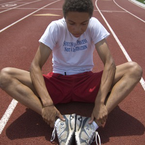 Connor Wilkins discusses running passion