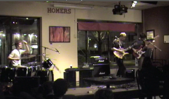 Kept Mess Live at Homer's Coffee House