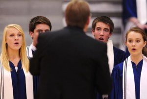 Video: Choir Students Make it to Districts