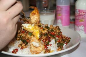 East Students Take on Thai Super Hot Chili Challenge