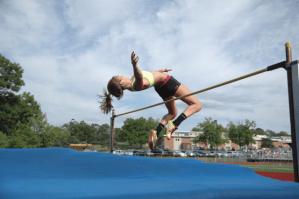 Senior Grace Pickell Continues High Jump Career