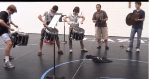 Video: Seniors on Drum Line