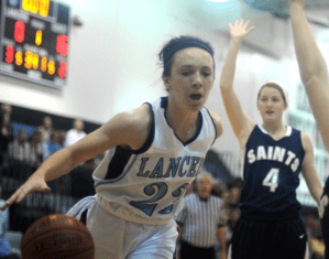 Gallery: Girls' Basketball vs St. Thomas Aquinas