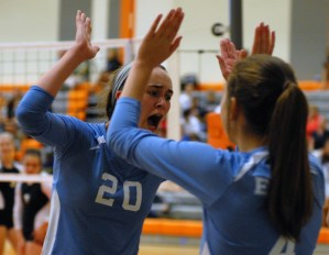 Gallery: Varsity and JV Volleyball Quad Tournament