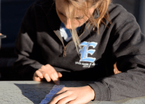 Video: Junior Kendall Dunn Enjoys Geocaching In Spare Time