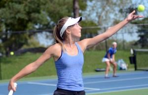 Gallery: Girls Tennis vs. KCC
