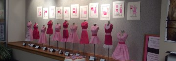 Students Place Third in Light the Town Pink Contest